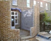 Arch wall in Streatham
