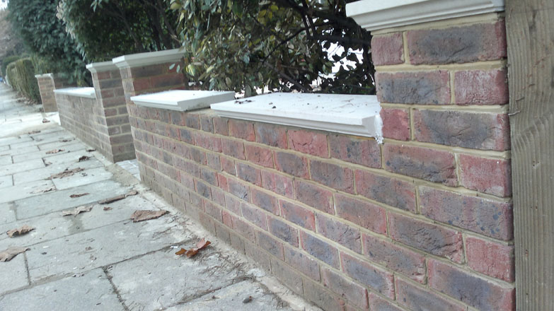 Front Garden Wall London Brickwork