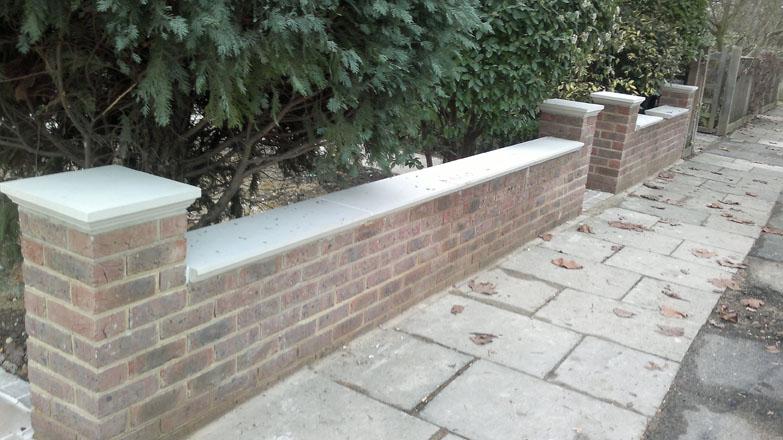 Front Garden Wall London Brickwork