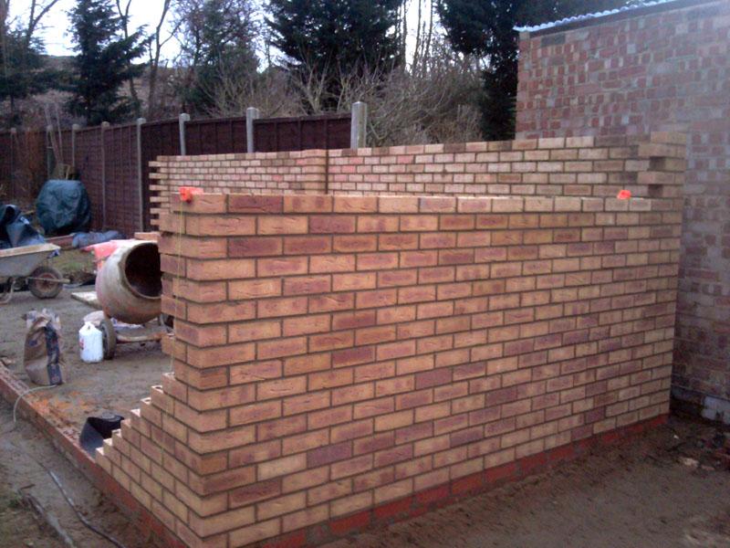 Garden Brick Shed Harrow Brickwork London
