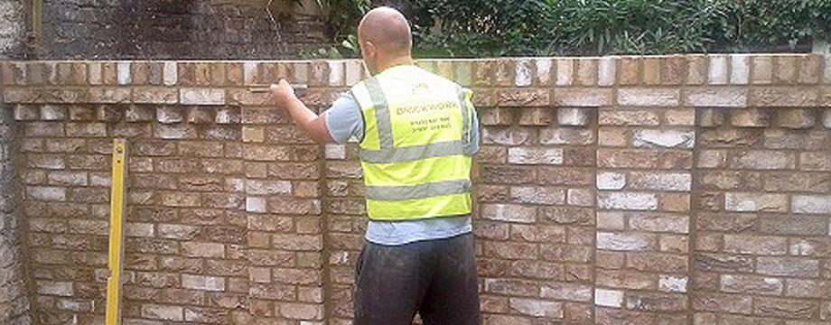 Brickwork London Garden Walls Extensions New Build